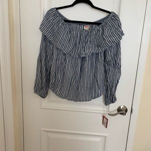 New with tags off the shoulder top